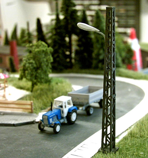 Modellbahn-Lampen-TT